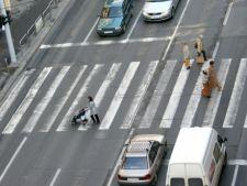 Politia Rutiera a amendat peste 4.000 de pietoni pentru traversare neregulamentara