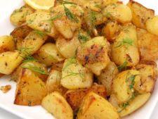 Cartofi la cuptor cu ghimbir