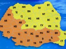 Cod portocaliu de canicula pana duminica: Temperaturile pot ajunge si la 42 de grade