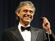 Andrea Bocelli concerteaza in 2013 la Bucuresti