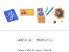 Maria Montessori: Google aniverseaza 142 ani de la nasterea sa