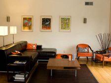 Idei de decorare pentru sufrageriile cu mobila neagra