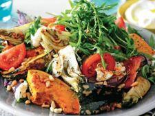 Salata de toamna cu legume coapte
