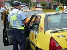Taximetristii din zona aeroporturilor, controlati de politisti
