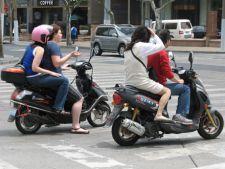 Dosare penale pentru persoanele care circula fara permis pentru scuter