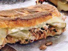 Sandwich-uri calde cu ton
