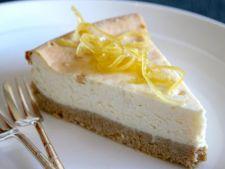 Cheesecake cu ricotta si lamaie