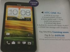 HTC One X+ soseste in curand: vezi prima poza si specificatiile