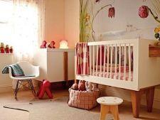5 reguli in amenajarea unei camere pentru bebelusi