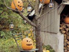 Decoratiuni de Halloween pentru gradina