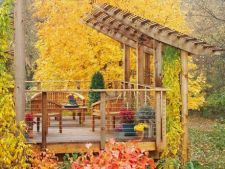 Transforma gradina de toamna intr-o oaza de relaxare