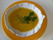 Supa crema de dovleac cu fasole