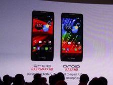 Ce diferente exista intre Motorola Droid RAZR HD si RAZR MAXX HD?