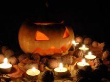 Decoratiuni infricosatoare de Halloween pentru sufragerie