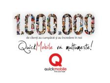 ADVERTORIAL QuickMobile a ajuns la 1 milion de clienti