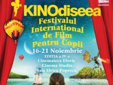 Festivalul de Film pentru Copii Kinodiseea ii asteapta pe cei mici intre 16 si 21 noiembrie!