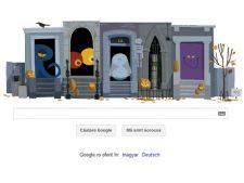 Google iti ureaza Halloween Fericit!