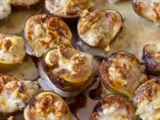 Smochine umplute cu gorgonzola si alune de padure