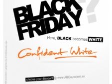 Pentru prima data in Europa, Black Friday devine Alb Confident!