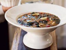 Supa italiana cu paste si carnaciori