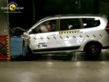 Ce rezultat a obtinut Dacia Lodgy la testele de siguranta EURO NCAP