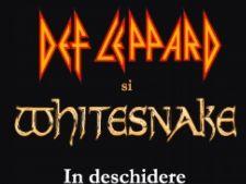 Afis concert Whitesnake& Def Leppard