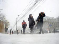 Avertizare meteo: Cod galben de ninsoare si vant in estul si sud-estul Romaniei
