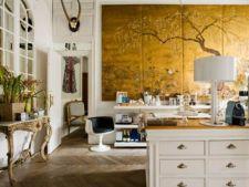 4 modalitati inteligente de a folosi auriul in decorarea casei