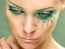 Make-up seducator de iarna pentru ochii verzi