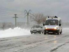 O noua avertizare meteo: ninsori, viscol si temperaturi de -20 de grade Celsius