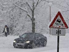 ANM a emis o noua avertizare cod galben de ninsori. Afla ce zone sunt afectate!