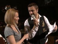 Andreea Esca a cantat pe scena Salii Palatului cu Horia Brenciu