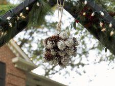 De Craciun, decoreaza-ti gradina cu ornamente handmade!