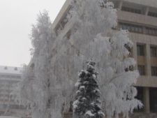 S-a atins cea mai scazuta temperatura a iernii in Romania, -26 grade Celsius