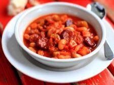 Supa cu fasole si chorizo
