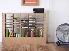 Trend eco: 5 piese de mobilier de design confectionate din carton