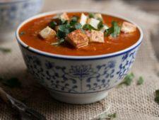 Supa de rosii cu orez brun