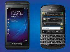 BlackBerry a prezentat doua smartphone-uri noi