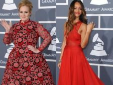 Premiile Grammy 2013: Cu ce tinute au impresionat vedetele pe covorul rosu