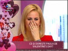 Paula Chirila, in lacrimi de Ziua Indragostitilor