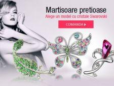 Cadouri de 1 si 8 Martie: lenjerii sexy si martisoare cu cristale Swarovski