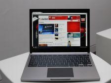 Google a dezvaluit primul sau laptop cu touchscreen