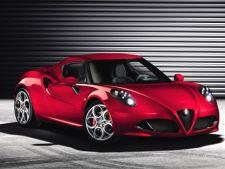 Versiunea de serie a lui Alfa Romeo 4C, prezentata in premiera la Geneva