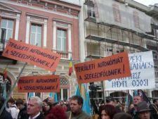 Manifestatii pentru autonomia Tinutului Secuiesc