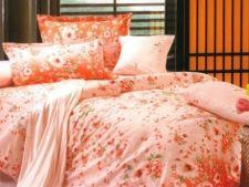 ADVERTORIAL: 4 lenjerii de pat cu motive florale pentru un pat vesel si modern