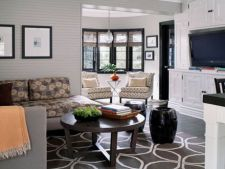 Insereaza formele geometrice in designul casei tale