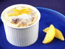 Sufleu de portocale cu miere si lichior
