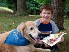 Studiu: Cainii dresati pot ajuta copiii autisti sa socializeze mai bine