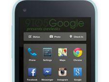 Cum arata interfata noului telefon Facebook produs de HTC