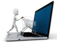 Cumparaturile online, tot mai populare printre romani